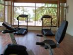 Well equipped Fitness Room
