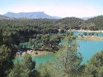 Be sure to visit the lakes at El Chorro for hiking, climbing or just a picnic. Located 45 mins away.