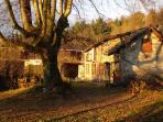 France Farmhouse -The House In Autumn
