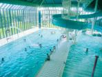 Your stay includes an allocation of passes to fabulous leisure facilities just a few minutes by car