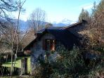 Pyrenees Farmhouse - View over house of the Pic-du-Midi