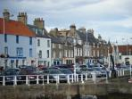 The seafront at Anstruther