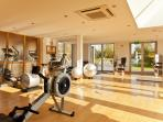 On site 4 million spa with a Techno Gym