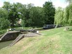 Broadwater - next to the Grand Union Canal