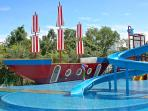 Kids private water park