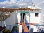 bridge from master bedroom to sun terrace