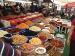 Enjoy the spices at Turgetreis Market