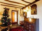 Christmas at Seathwaite Cottage, inner hall