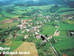 mountain village Bystré v Orlických horách