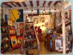 An Arty shop in Pezenas