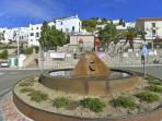 White village of Frigiliana just 5 mins drive away