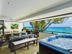 Balcony - Jacuzzi, dining and lounging