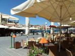 Chania habour cafe.