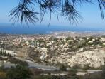 Views over Tala towards Coral Bay
