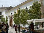 Ojen, gateway to Sierra de la Nieves - ideal for walkers