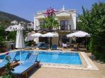 VILLA SOMMER, Kalkan. Walking distance to the centre an harbor.