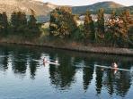 Temo River  view