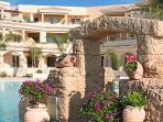 Aphrodite Sands Resort has unique architecture