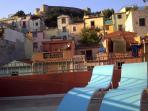 Solarium: Malaspina's castle view