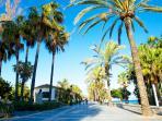 San Pedro promenade