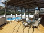 Beautiful Pool Area With Al Fresco Dining,lounging and Stunning Views