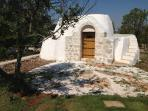 your own 200 years old Trulli! and it has all your BBQ set inside!