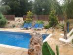 Villa Rania Swimming pool area