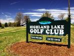 Tee Off - At the Highland Lake Golf Club - Open to the public and next door to the Evening Star
