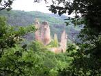 le château de la Tourrette