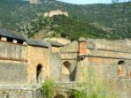 Visit the fortified village of Villefranche de Conflent only 5 minutes drive away