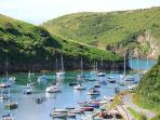 THE BEAUTIFUL SOLVA HARBOUR, GREAT FOR FISHING, SWIMMING, CANOEING, KAYAKING,CRABBING AND BOAT TRIPS