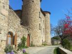 le château de Collans à Vernoux