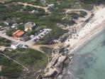 Vista aerea di Villa Marta