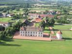 Chateau de Vianges & Residences Aerial View