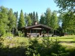 Fribitorpet, Classic log cabin