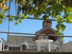 The terrace. An excellent place to relax, entertain or enjoy a barbecue.