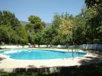 Communal pool, June to September