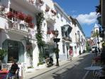 Marbella Old Town - a ten minute stroll