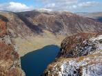 View of Llyn Cau from Cadair Idris
