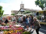 Market Day in Marseillan