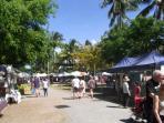 Sunday markets at Port Douglas