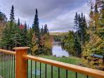 terrasse donnant sur le Lac