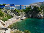This beautiful natural beach is located just 200 meters below the house