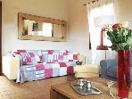 Villa Kentavros: The living room