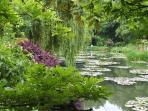 Monet's Gardens- 1hr 30mins drive
