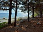 Small Artina beach