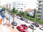 View from the balcony to the left / Vista da Sacada para a esquerda