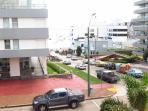 View from the balcony / Vista da Sacada