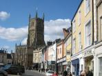 Fountain View is located just 4 miles from Cirencester - second largest Roman market town