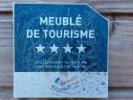 classement  Côte d'Or Tourisme 4 étoiles en 2013,